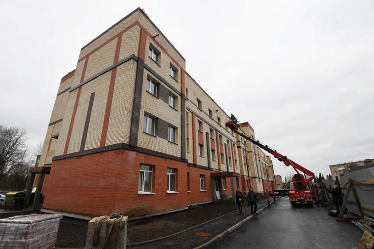 Новые общежития для ленинградских студентов