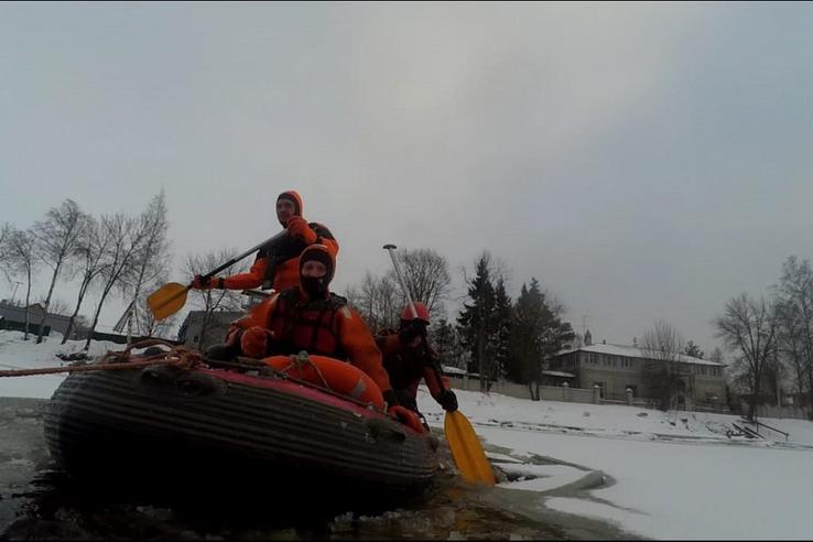 Спасатели контролируют ситуацию с половодьем