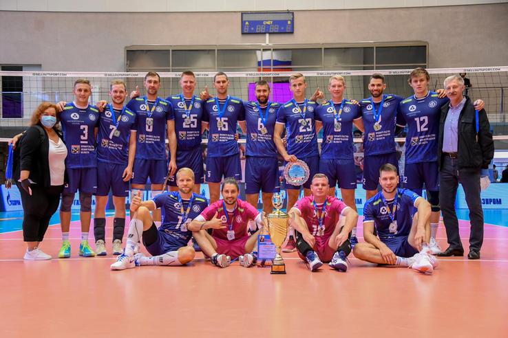 «Динамо-Ленинградская область» — пятый раз в Суперлиге