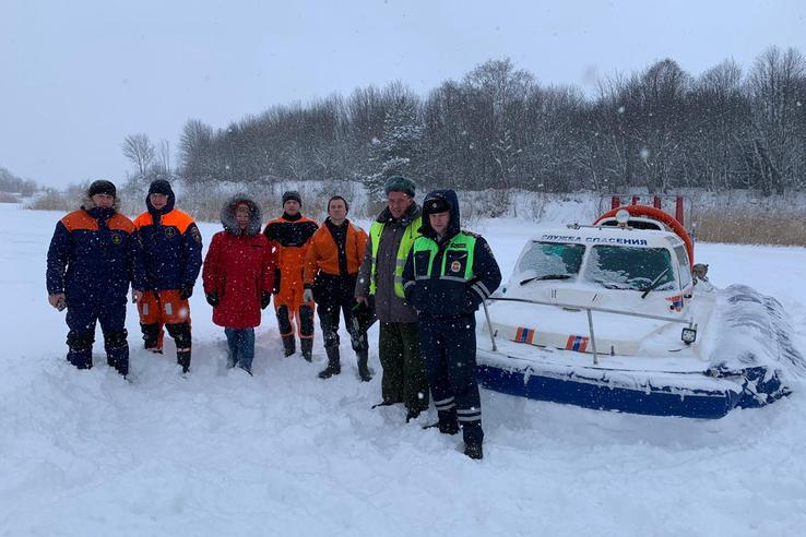 Гостехнадзор проверил снегоходы в Ленинградской области