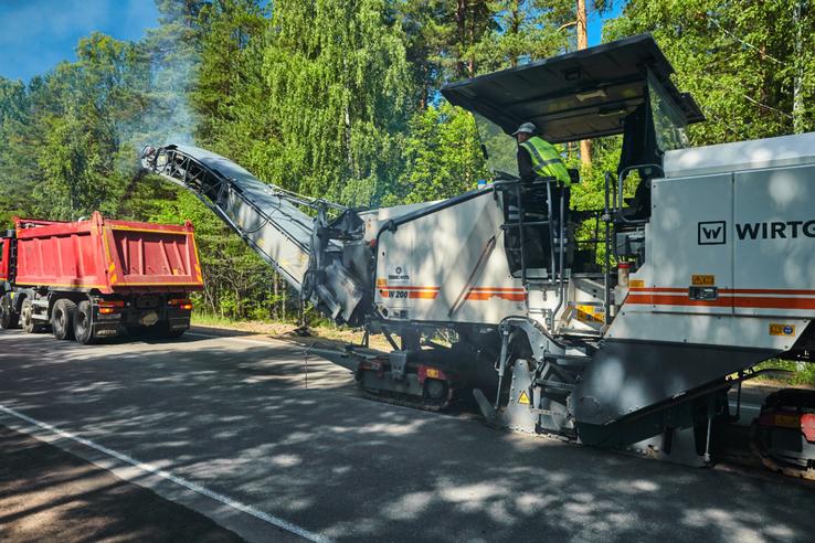 НАЦПРОЕКТЫ: стартовал ремонт Гостилицкого шоссе