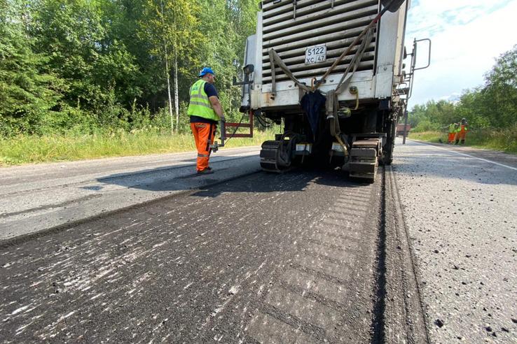 НАЦПРОЕКТЫ – НОВОСТИ ИЗ РАЙОНОВ: в ремонте ― главная магистраль южной части Ломоносовского района