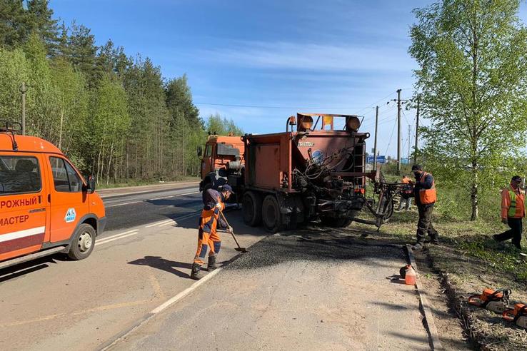 В Ленинградской области продолжатся общественные работы