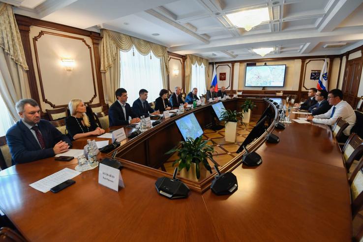 Ленинградская область и Узбекистан расширяют сотрудничество