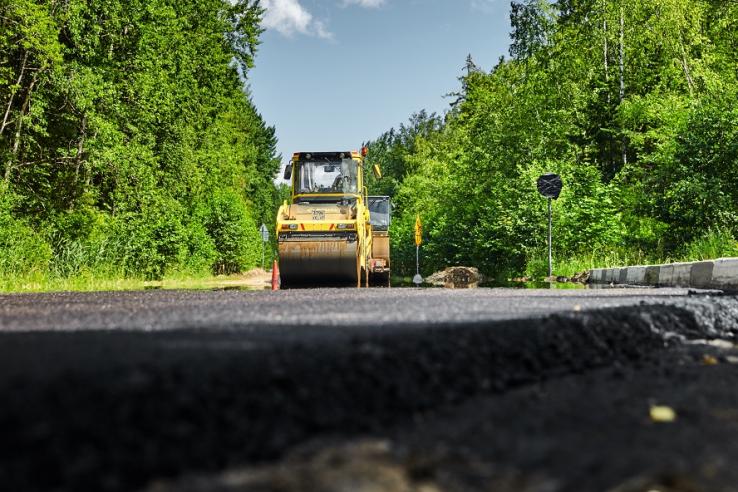 Гостилицкое шоссе — с ремонтом