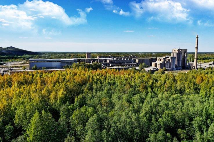 Большие инвестиции в сланцевский цемент