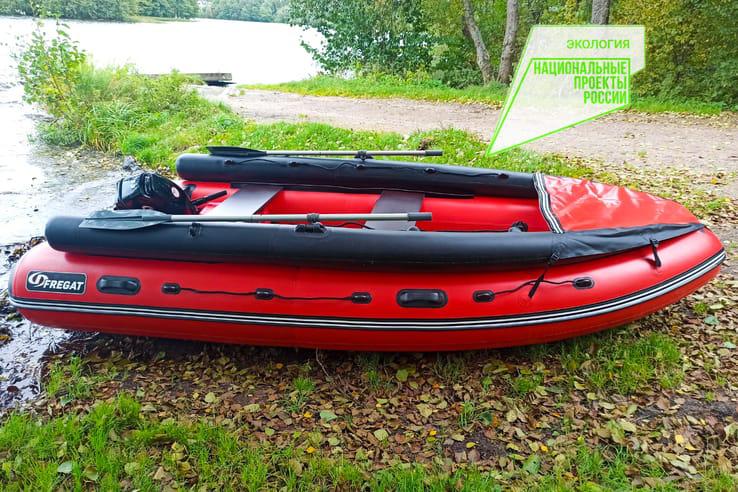НАЦПРОЕКТЫ: новые лодки для лесной охраны