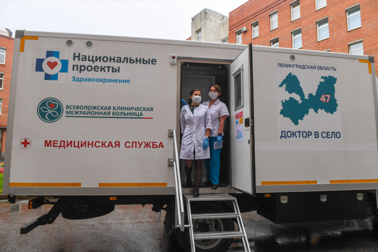 «Ленинградское здоровье»: итоги месяца работы