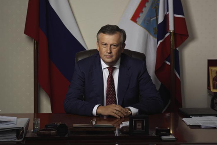 Обращение губернатора Ленинградской области