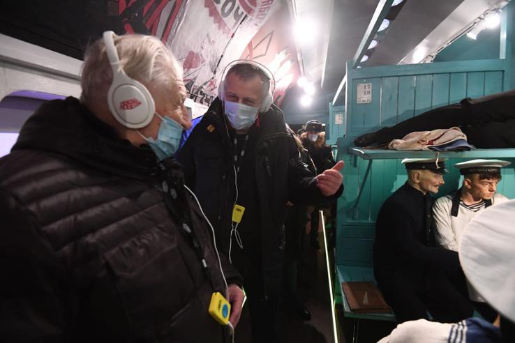 История Великой Отечественной — в восьми вагонах «Поезда Победы»