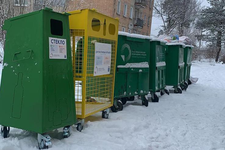 В Луге стартовал раздельный сбор отходов