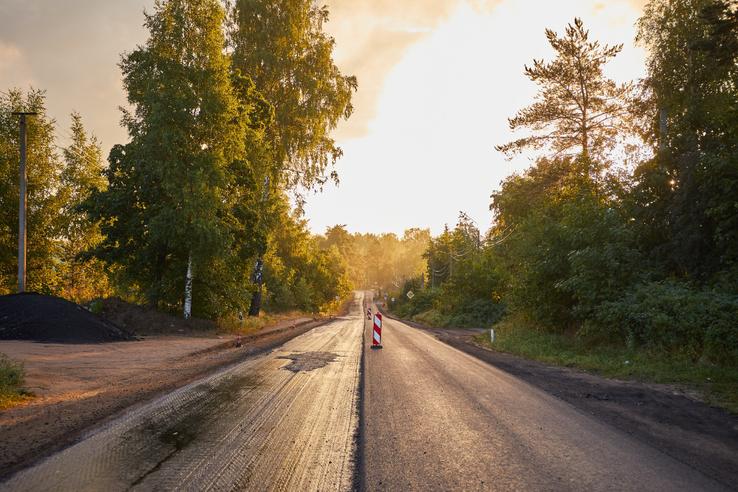 НАЦПРОЕКТЫ: область обновляет дороги в Рябово