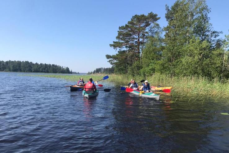За активным отдыхом ─ по рекам Ленинградской области