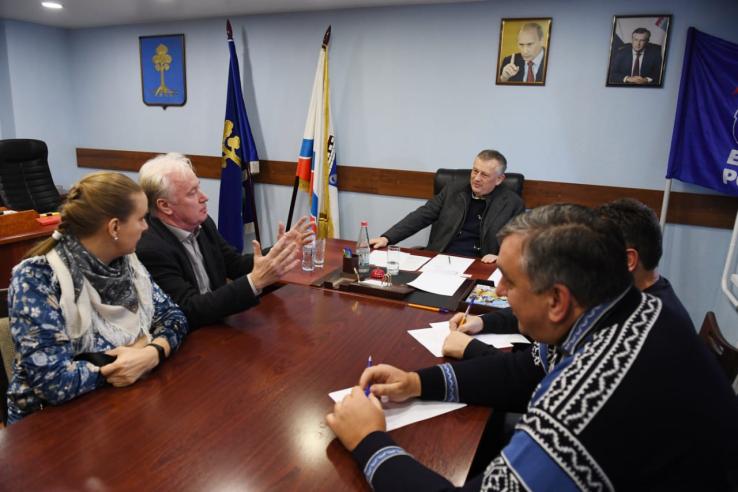 Сертолово решает вопросы с губернатором