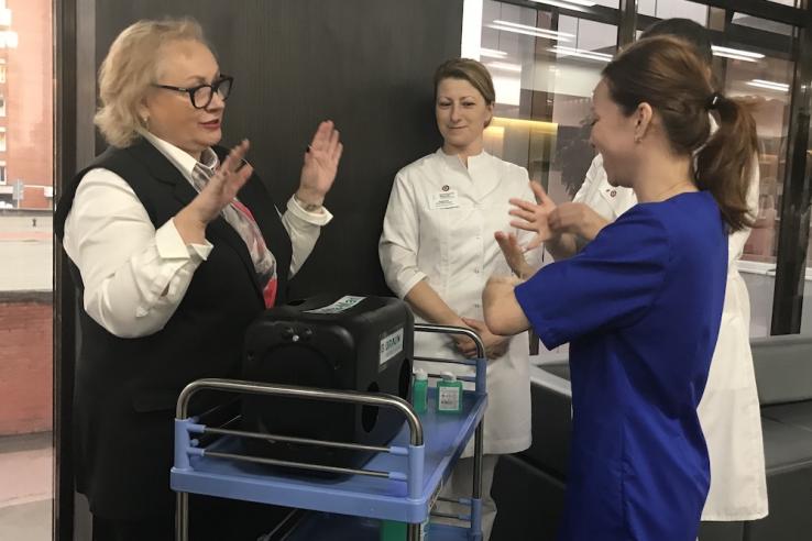 Чистые руки — залог здоровья