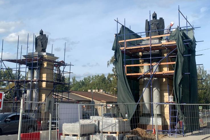Новый облик Смоленских ворот