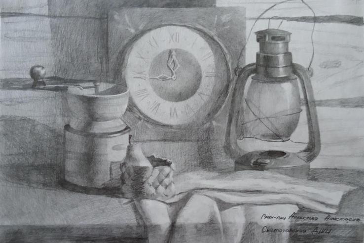 «Серебряный карандаш» — у юной художницы из Светогорска
