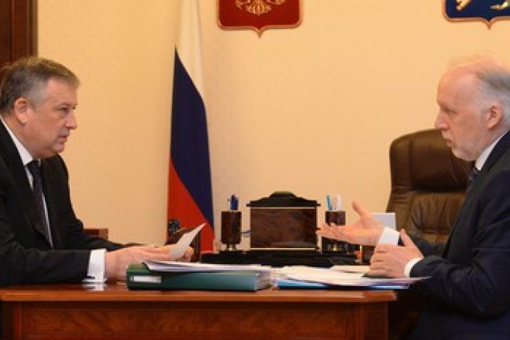 Губернатору представлен доклад о правах человека