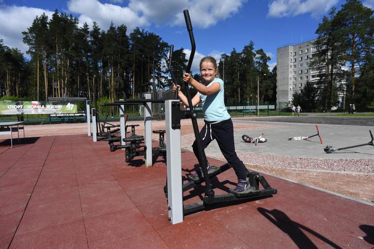 НАЦПРОЕКТЫ: область развивает фитнес