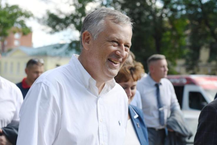Выборы в Ленинградской семье