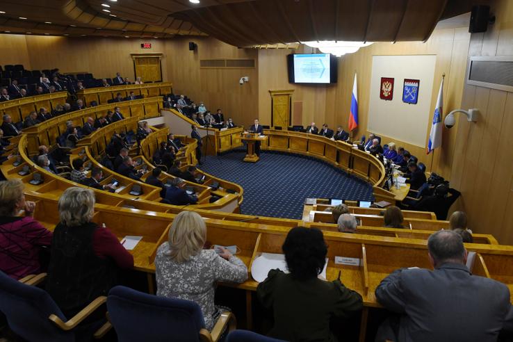 Губернатор направил на согласование состав нового правительства