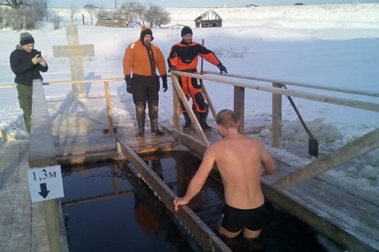 Ленинградская область готова к Крещенским купаниям