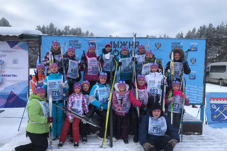 «Лыжня России» определила ленинградских чемпионов