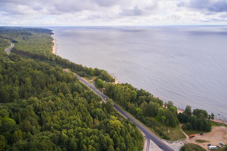 НАЦПРОЕКТЫ: область обновляет Приморское шоссе