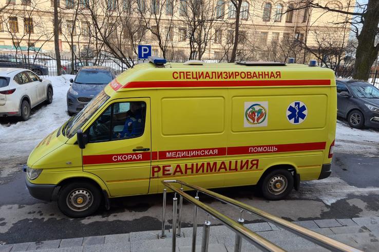 Детская больница усилила работу выездной реанимации