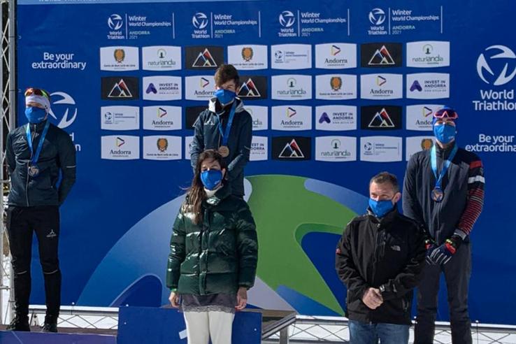Триатлонисты из Гатчины ─ бронзовые призеры чемпионата мира