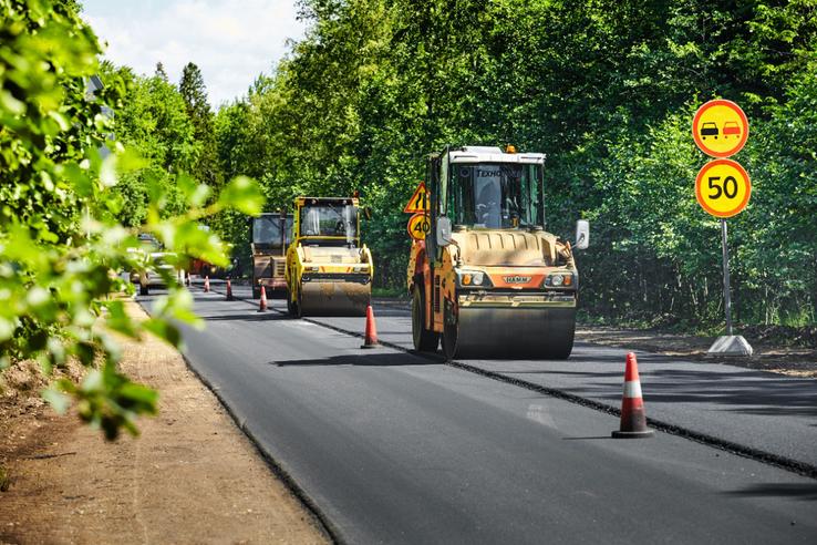 203 км муниципальных улиц Ленинградской области ожидает обновление