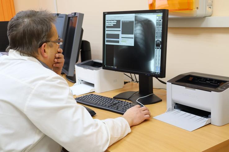 НАЦПРОЕКТЫ: поликлиника в Пикалево открыла рентгенотделение